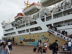 Statistik Penumpang Kapal Pelni Periode Natal 2020