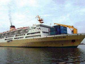 Jadwal Kapal Pelni KM Sinabung April 2020