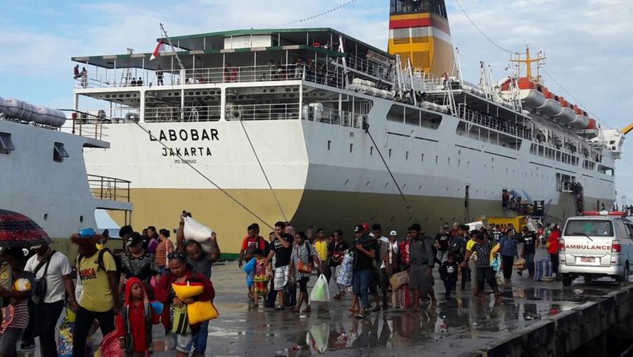 Jadwal Kapal Pelni KM Labobar April 2020