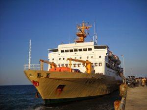Kapal Pelni KM Awu Hentikan Pelayaran