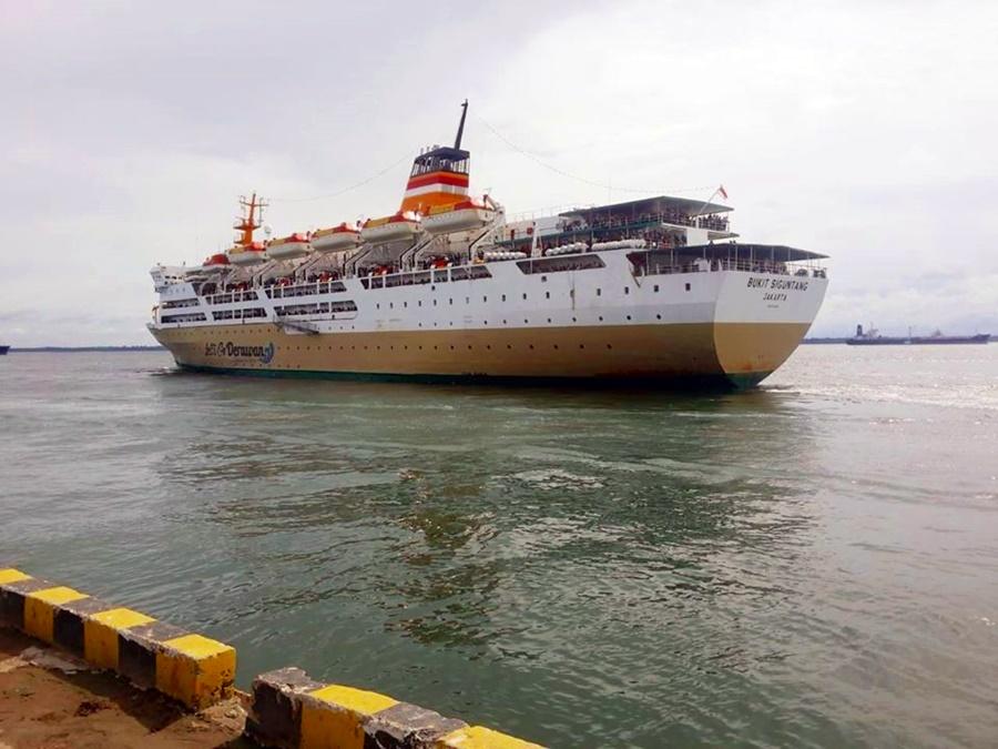 Jadwal Kapal Pelni KM Bukit Siguntang Juli 2020