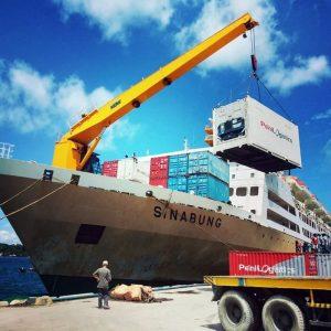 jadwal tiket kapal logistik pelni km sinabung