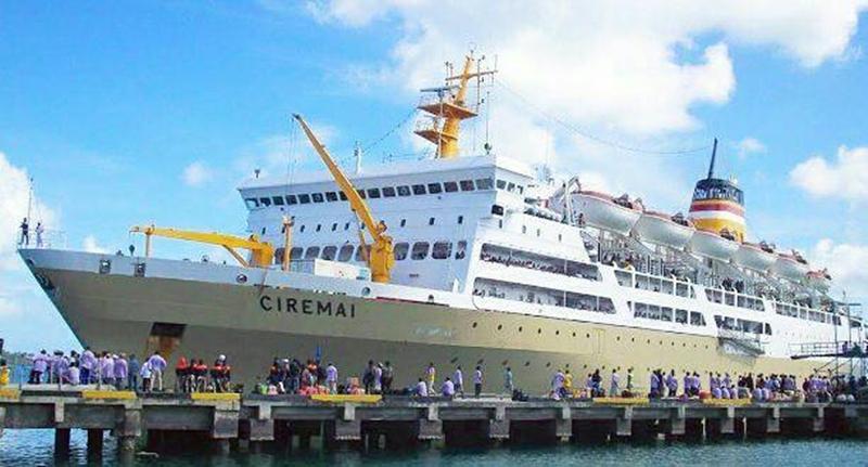 Jadwal Kapal Pelni KM Ciremai Agustus 2020