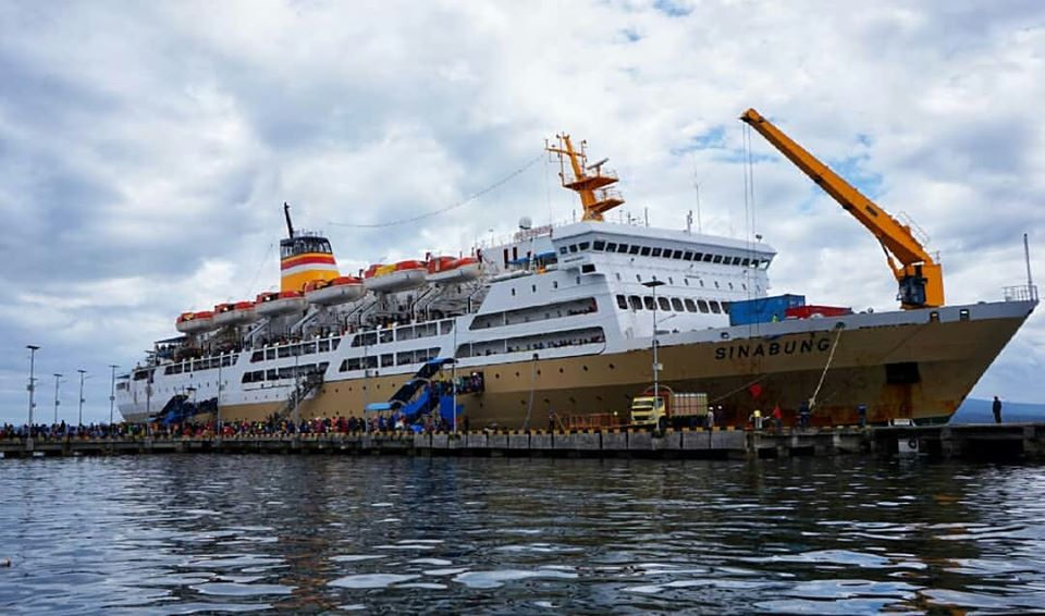 Jadwal Kapal Pelni KM Sinabung Agustus 2020