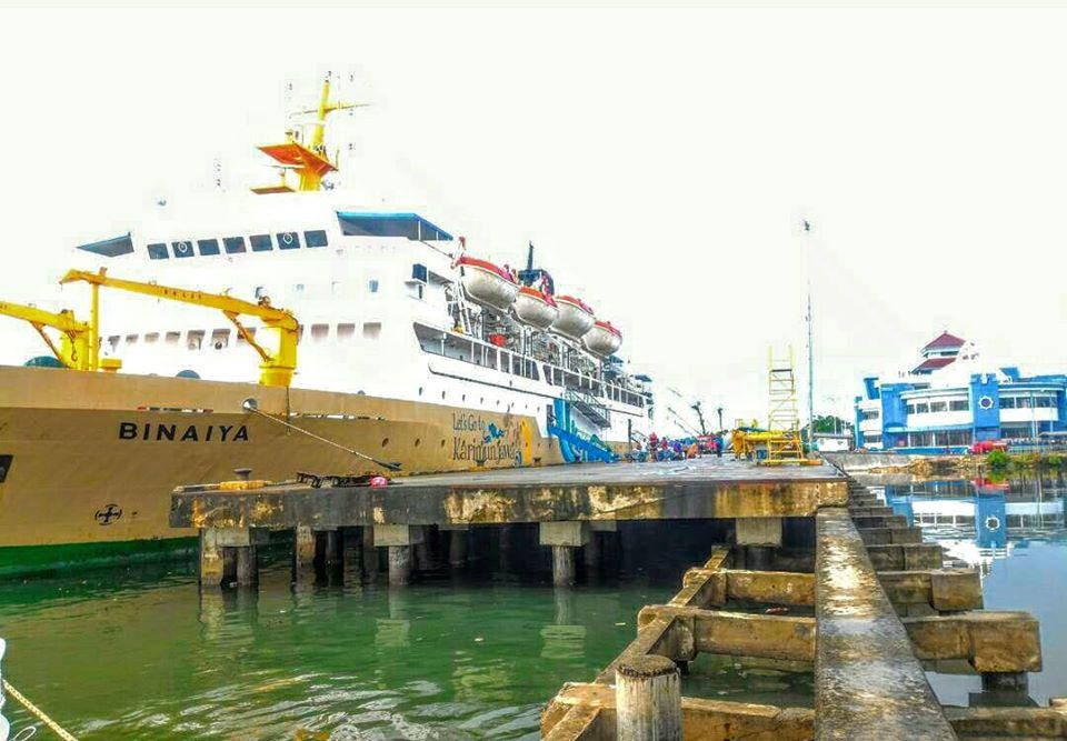 Jadwal Kapal Pelni KM Binaiya September 2020