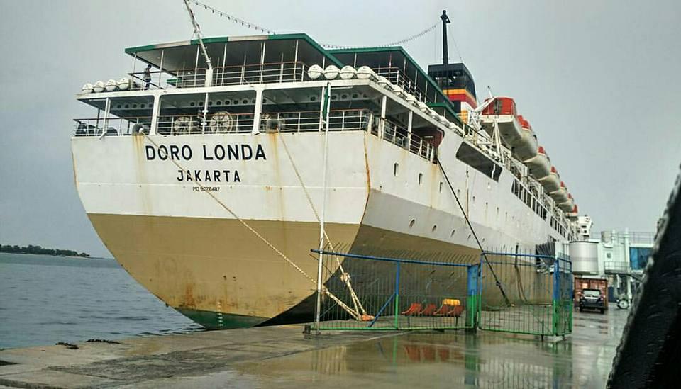 Jadwal Kapal Pelni KM Dorolonda November 2020