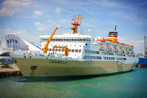 jadwal kapal laut pelni km lambelu