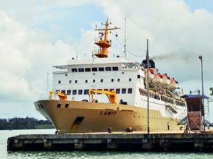 Jadwal Kapal Pelni KM Lawit November 2020