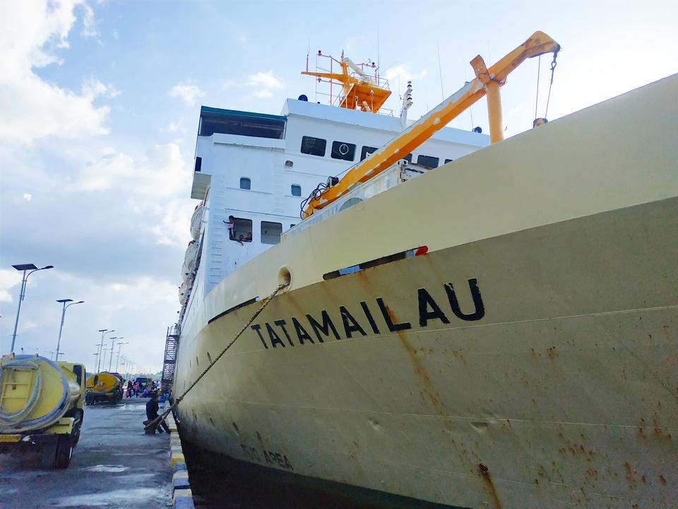 Jadwal Kapal Pelni KM Tatamailau November 2020