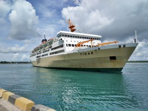 Kapal Pelni KM Tidar Berhenti Beroperasi