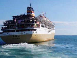 Jadwal Kapal Pelni KM Awu Maret 2021