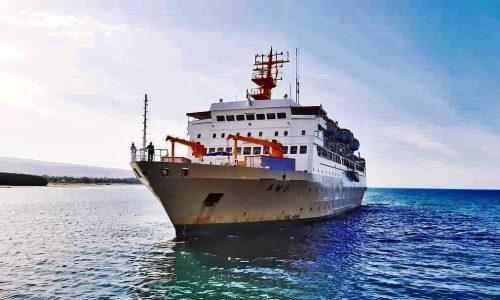 jadwal tiket kapal laut pelni km awu 2021