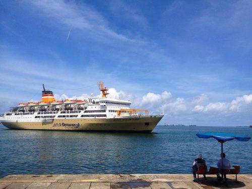 jadwal tiket kapal laut km bukit siguntang