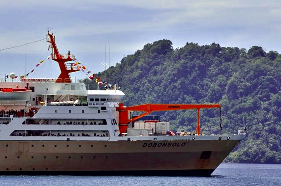 Jadwal Kapal Pelni KM Dobonsolo Desember 2020