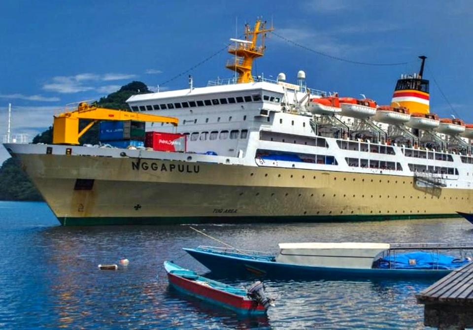 jadwal tiket kapal laut pelni km nggapulu