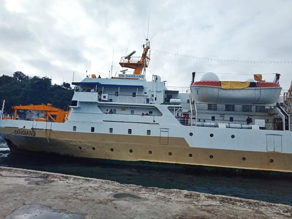 Jadwal Kapal Pelni KM Sangiang Desember 2020