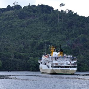 Tiket Kapal Bitung – Miangas — KM Sangiang