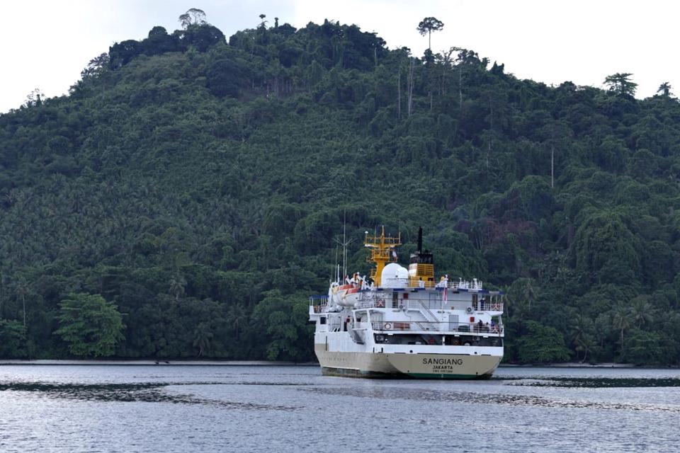 Jadwal Kapal Pelni KM Sangiang September 2020