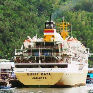 jadwal kapal laut pelni km bukit raya