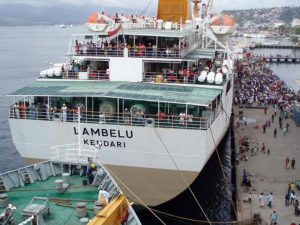 Jadwal Kapal Pelni KM Lambelu Januari 2021