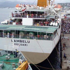 jadwal tiket kapal laut pelni km lambelu