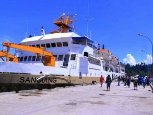 Jadwal Kapal Pelni KM Sangiang Mei 2021