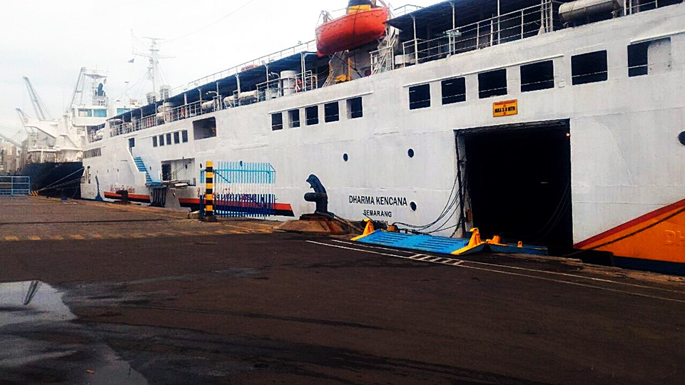 jadwal kapal laut km dharma kencana 2020
