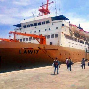 Tiket Kapal Jakarta – Padang — KM Lawit