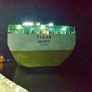 Tiket Kapal Makassar – Nabire — KM Tidar