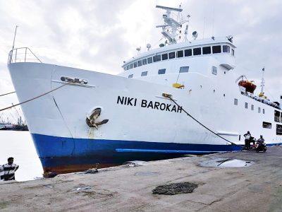 jadwal kapal laut km niki barokah, pt berlian lautan sejahtera
