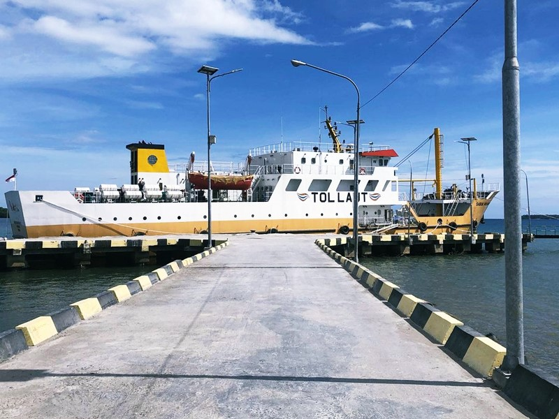 You are currently viewing KM Sabuk Nusantara 88 untuk Sanana Selesai Dibangun