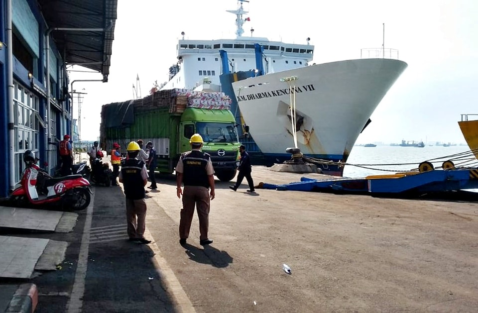 km dharma kencana vii - jadwal kapal laut 2021