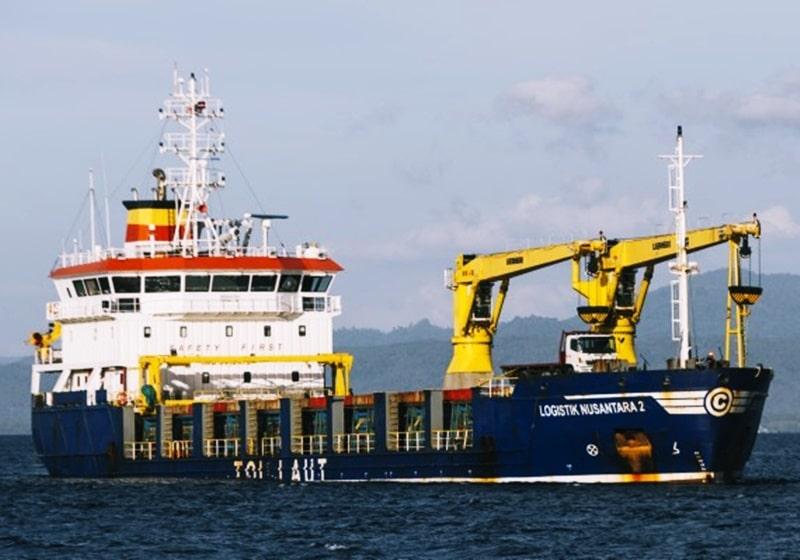 km logistik nusantaa 2 - kapal tol laut pelni