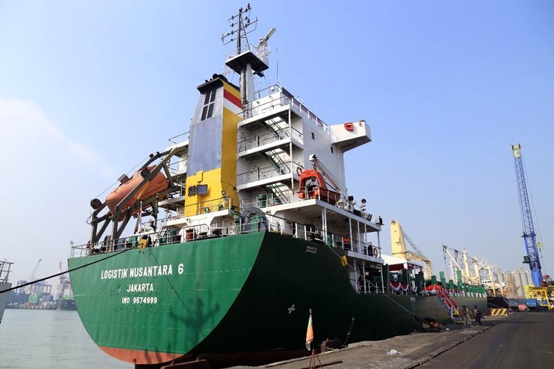 km logistik nusantara 6 - kapal taol laut pelni
