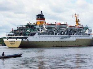 Jadwal Kapal Pelni KM Binaiya April 2021