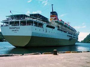 Jadwal Kapal Pelni KM Nggapulu April 2021