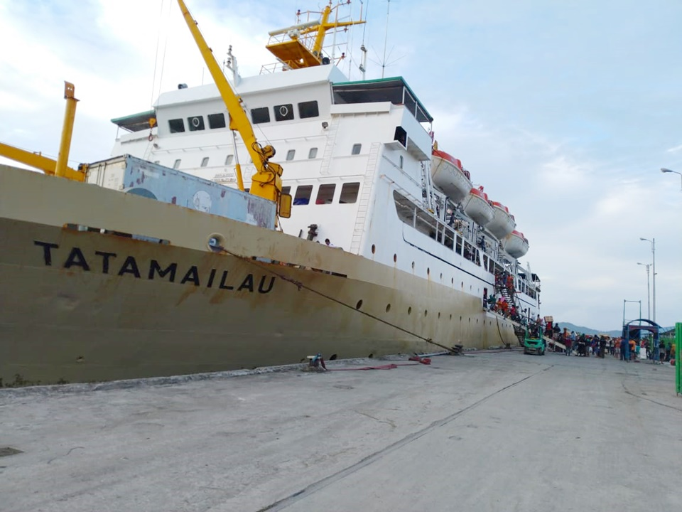 You are currently viewing Jadwal Kapal Pelni KM Tatamailau April 2021