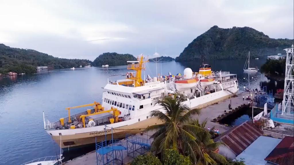 Jadwal Kapal Pelni KM Pangrango Mei 2021