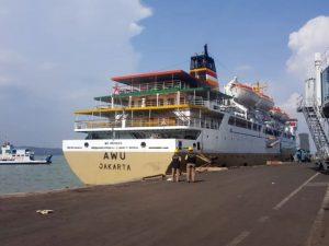 Jadwal Kapal Pelni KM Awu Juni 2021