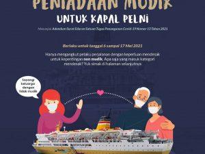 Naik Kapal Pelni Saat Dilarang Mudik 2021
