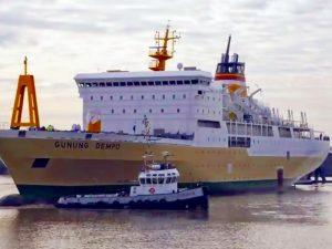 Jadwal Kapal Pelni KM Gunung Dempo – Agustus 2021