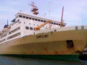 Jadwal Kapal Pelni KM Umsini Agustus 2021