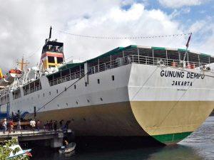 Jadwal Kapal Pelni KM Gunung Dempo Oktober 2021